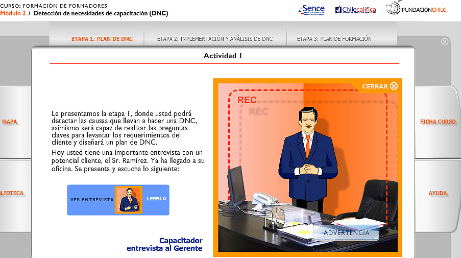 elearning Fundacion Chile - SENCE 2009