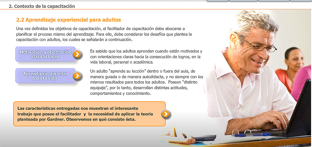 elearning Fundacion Chile - SENCE 2011