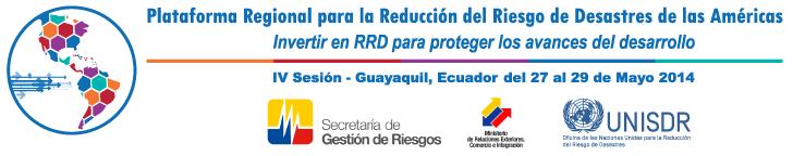 Plataforma Regional para la Reducción del Riesgo de Desastres de las Américas